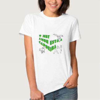 capoeira meu amor martial arts axe bahia tee shirts