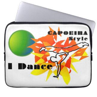 capoeira mma cage fight angola brazil computer sleeve