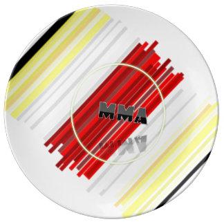 capoeira mma mixed martial arts brasil axe porcelain plate
