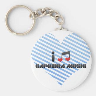 Capoeira Music Keychain