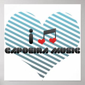 Capoeira Music Poster