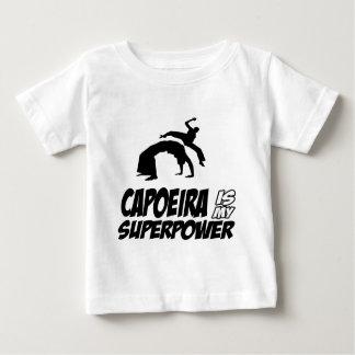 capoeira my superpower baby T-Shirt