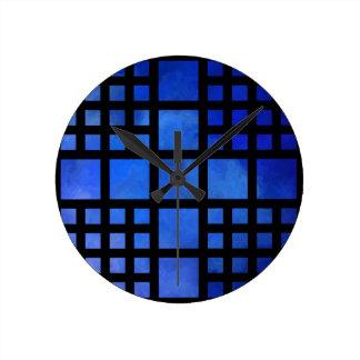 Cappanella V1 - blue squares Clocks