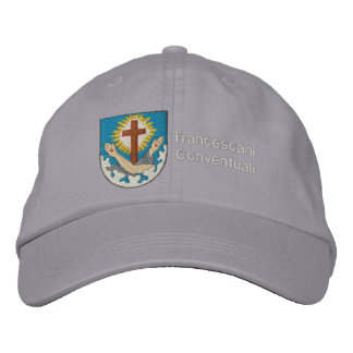 cappello stemma francescano embroidered baseball cap