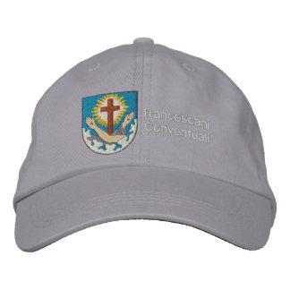 cappello stemma francescano embroidered hat