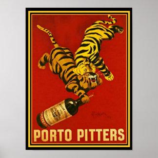 Cappielllo Porto Pitters Ad Poster 12 x 16