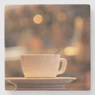 Cappuccino coffee, Venice, Italy Stone Beverage Coaster