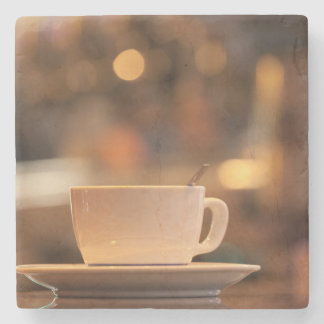 Cappuccino coffee, Venice, Italy Stone Coaster