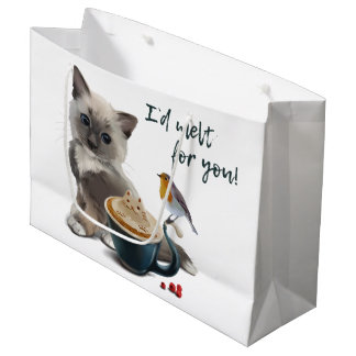 Cappuccino Large Gift Bag