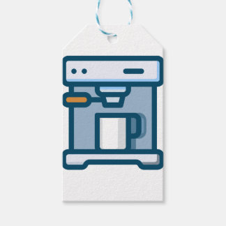 Cappuccino Machine Gift Tags