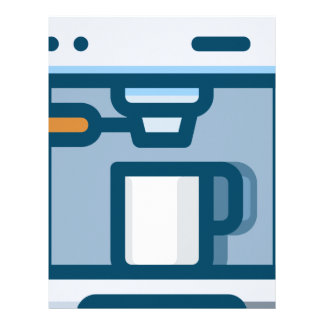 Cappuccino Machine Letterhead