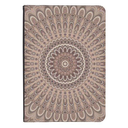 Cappuccino mandala kindle touch cover