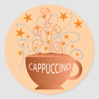 cappuccino stickers