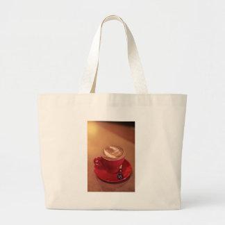 Cappucino Blank Large Tote Bag