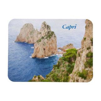 Capri Faraglioni Rocks Magnet