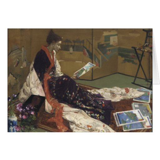 Caprice in Purple and Gold - James Whistler Card