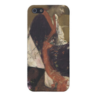 Caprice in Purple and Gold - James Whistler iPhone 5 Covers