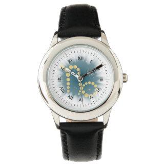 Capricorn 22 December until 20 January clock Wristwatch