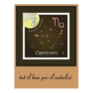 Capricorn 22 more december fin 20 of schaner postcard