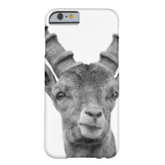 Capricorn animal woodland photo black and white barely there iPhone 6 case