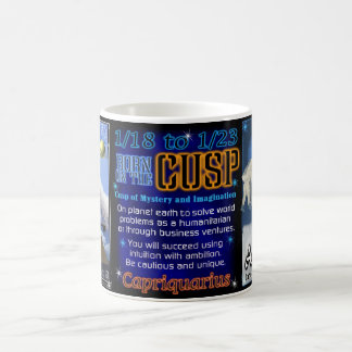 Capricorn Aquarius cusp mug