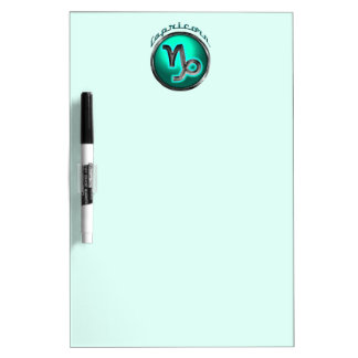 Capricorn Astrological Sign Dry Erase Boards