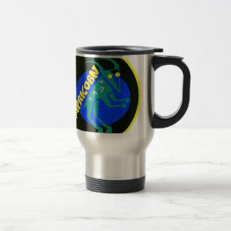 Capricorn Badge Travel Mug