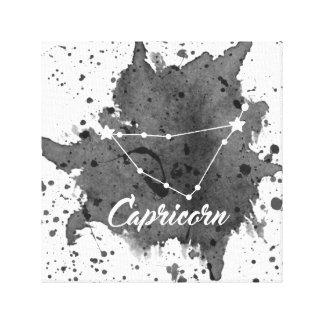 Capricorn Black Wall Art