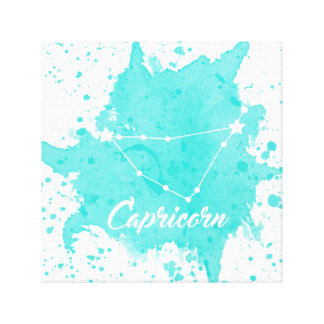 Capricorn Blue Wall Art