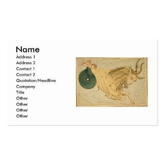Capricorn Business Card