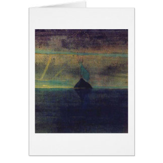 Capricorn by M.K. Ciurlionis, 1907 Card