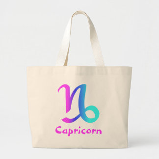 Capricorn canvas tote bag