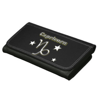 Capricorn chrome symbol wallet