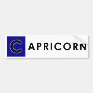 CAPRICORN COLOR BUMPER STICKER