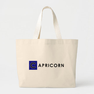 CAPRICORN COLOR LARGE TOTE BAG