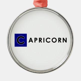 CAPRICORN COLOR METAL ORNAMENT