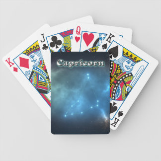 Capricorn constellation bicycle playing cards