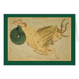 Capricorn Constellation Card
