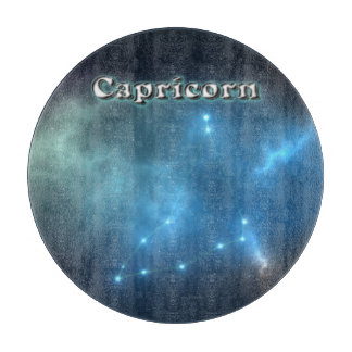 Capricorn constellation cutting board