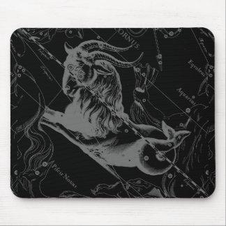 Capricorn Constellation Map Hevelius Engraving Mouse Pad