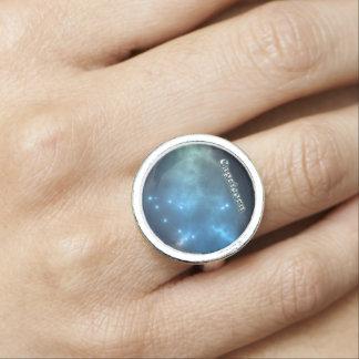 Capricorn constellation photo rings