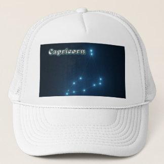 Capricorn constellation trucker hat