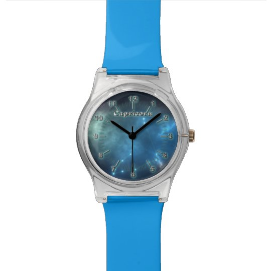 Capricorn constellation wristwatches