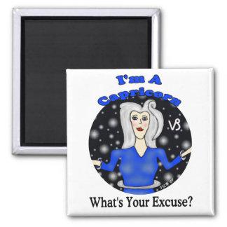 Capricorn Excuse Magnet