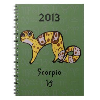 """Capricorn Gecko"" Zodiac Leopard Gecko Notebook"