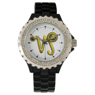 CAPRICORN GOLD ZODIAC BIRTHDAY JEWEL,White Watches