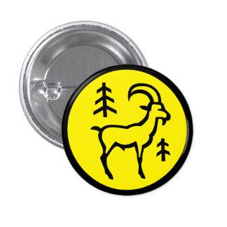 Capricorn Horoscope Sign Zodiac Symbol Button