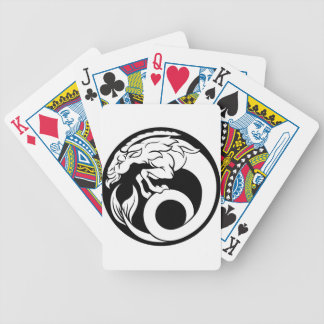 Capricorn Horoscope Zodiac Sign Bicycle Playing Cards