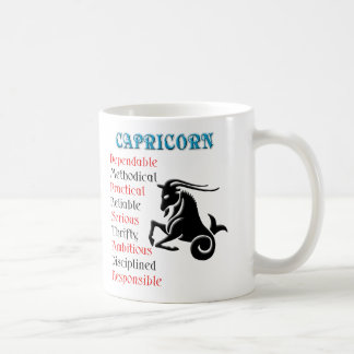 Capricorn Horoscope Zodiac Sign Coffee Mug