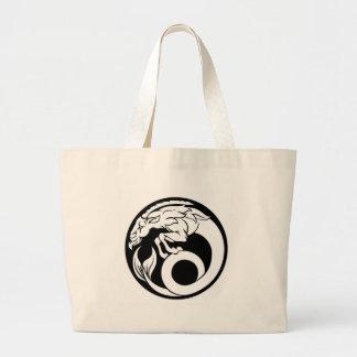 Capricorn Horoscope Zodiac Sign Large Tote Bag